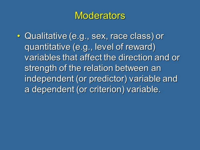 Moderation and Mediation Explained – martin lea